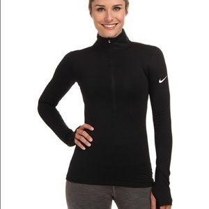 Women's Nike Warm Long Sleeve Half-Zip